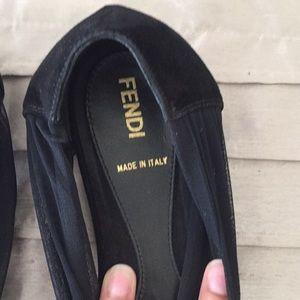 Fendi peep toes Flats